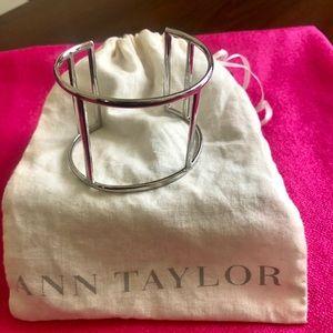 Ann Taylor silver cuff